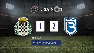 Liga NOS (21ªJ): Resumo Boavista FC 1-2 Belenenses