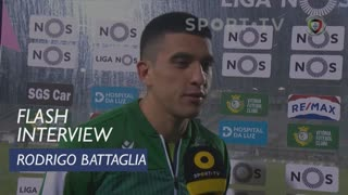 Liga (16ª): Flash Interview Rodrigo Battaglia
