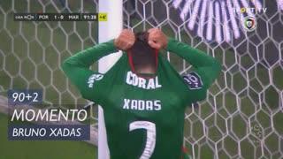 Marítimo M., Jogada, Bruno Xadas aos 90'+2'