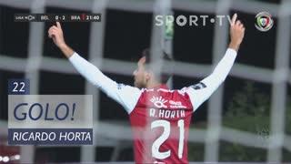 GOLO! SC Braga, Ricardo Horta aos 22', Belenenses 0-3 SC Braga