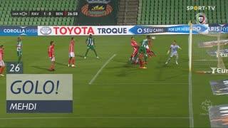 GOLO! Rio Ave FC, Mehdi aos 26', Rio Ave FC 1-0 SL Benfica