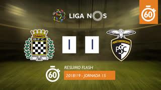 Liga NOS (15ªJ): Resumo Flash Boavista FC 1-1 Portimonense