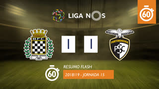 I Liga (15ªJ): Resumo Flash Boavista FC 1-1 Portimonense