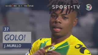 GOLO! CD Tondela, J. Murillo aos 37', SC Braga 0-1 CD Tondela