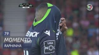 Sporting CP, Jogada, Raphinha aos 79'