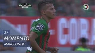 Marítimo M., Jogada, Marcelinho aos 37'