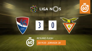 Liga NOS (28ªJ): Resumo Flash Gil Vicente FC 3-0 CD Aves