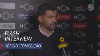 Liga (10ª): Flash Interview Sérgio Conceição
