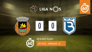 Liga NOS (23ªJ): Resumo Flash Rio Ave FC 0-0 Belenenses SAD