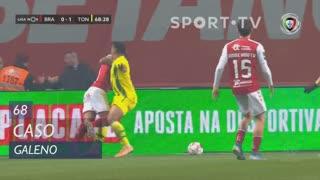 SC Braga, Caso, Galeno aos 68'