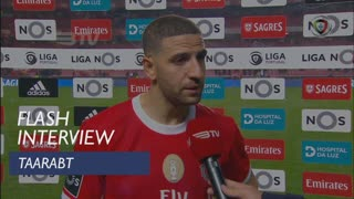 Liga (19ª): Flash Interview Taarabt