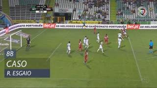 SC Braga, Caso, Ricardo Esgaio aos 88'