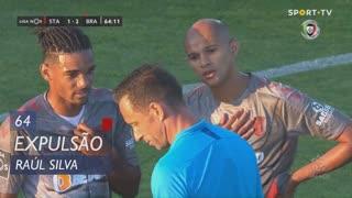 SC Braga, Expulsão, Raúl Silva aos 64'