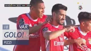 GOLO! SL Benfica, Pizzi aos 18', Portimonense 0-1 SL Benfica