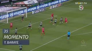 Gil Vicente FC, Jogada, Y. Baraye aos 35'