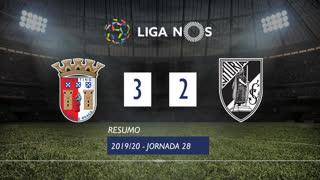 Liga NOS (28ªJ): Resumo SC Braga 3-2 Vitória SC