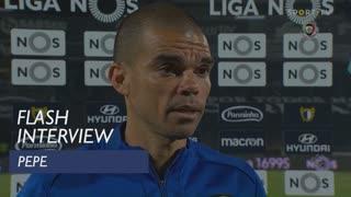 Pepe diz que FC Porto foi superior, mas menos eficaz