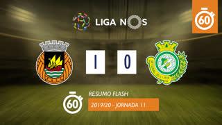 Liga NOS (11ªJ): Resumo Flash Rio Ave FC 1-0 Vitória FC