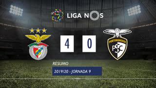 Liga NOS (9ªJ): Resumo SL Benfica 4-0 Portimonense