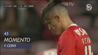 SL Benfica, Jogada, F. Cervi aos 45'