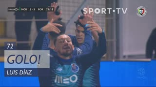 GOLO! FC Porto, Luis Díaz aos 72', Moreirense FC 2-3 FC Porto