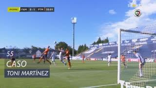 FC Famalicão, Caso, Toni Martínez aos 55'