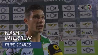 Liga (6ª): Flash Interview Filipe Soares