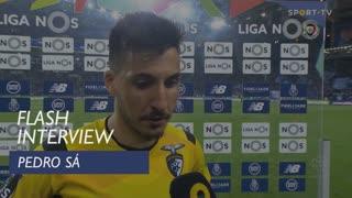 Liga (22ª): Flash Interview Pedro Sá