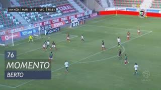 Vitória FC, Jogada, Berto aos 76'
