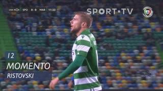 Sporting CP, Jogada, Ristovski aos 12'