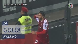 GOLO! SC Braga, Paulinho aos 24', Vitória SC 0-1 SC Braga