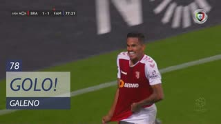 GOLO! SC Braga, Galeno aos 78', SC Braga 2-1 FC Famalicão
