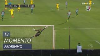 FC P.Ferreira, Jogada, Pedrinho aos 13'