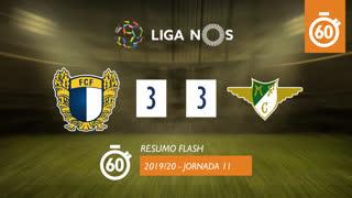 Liga NOS (11ªJ): Resumo Flash FC Famalicão 3-3 Moreirense FC