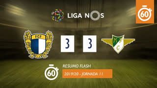 I Liga (11ªJ): Resumo Flash FC Famalicão 3-3 Moreirense FC