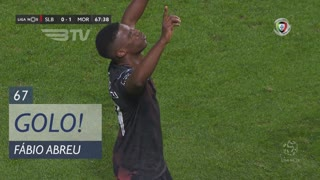 GOLO! Moreirense FC, Fábio Abreu aos 67', SL Benfica 0-1 Moreirense FC