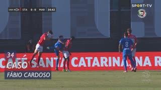 Santa Clara, Caso, Fábio Cardoso aos 34'