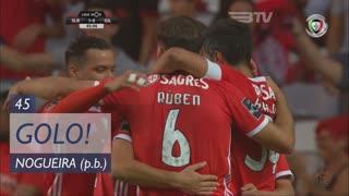GOLO! SL Benfica, Nogueira (p.b.) aos 45', SL Benfica 1-0 Gil Vicente FC