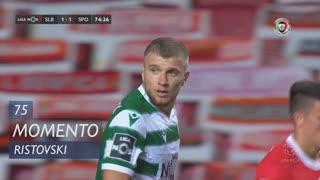 Sporting CP, Jogada, Ristovski aos 75'