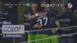 GOLO! Sporting CP, Bruno Fernandes aos 90'+4', Vitória FC 1-3 Sporting CP