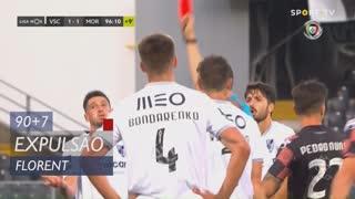 Vitória SC, Expulsão, Florent aos 90'+7'