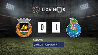 Liga NOS (7ªJ): Resumo Rio Ave FC 0-1 FC Porto