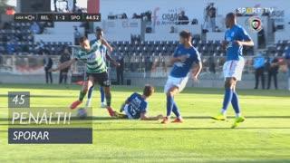 Sporting CP, Penálti, Sporar aos 45'