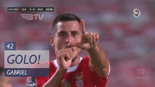 GOLO! SL Benfica, Gabriel aos 42', SL Benfica 3-0 Boavista FC