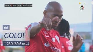 GOLO! Santa Clara, Thiago Santana aos 66', Santa Clara 2-2 SC Braga