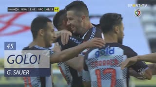 GOLO! Boavista FC, G. Sauer aos 45', Boavista FC 2-0 Vitória FC