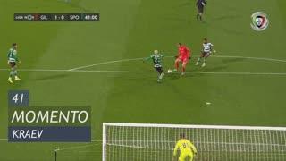 Gil Vicente FC, Jogada, Kraev aos 41'