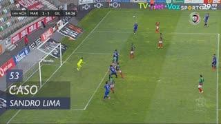 Gil Vicente FC, Caso, Sandro Lima aos 53'