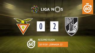 Liga NOS (22ªJ): Resumo Flash CD Aves 0-2 Vitória SC