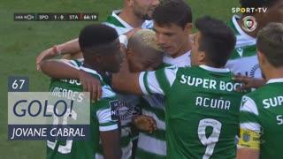 GOLO! Sporting CP, Jovane Cabral aos 67', Sporting CP 1-0 Santa Clara